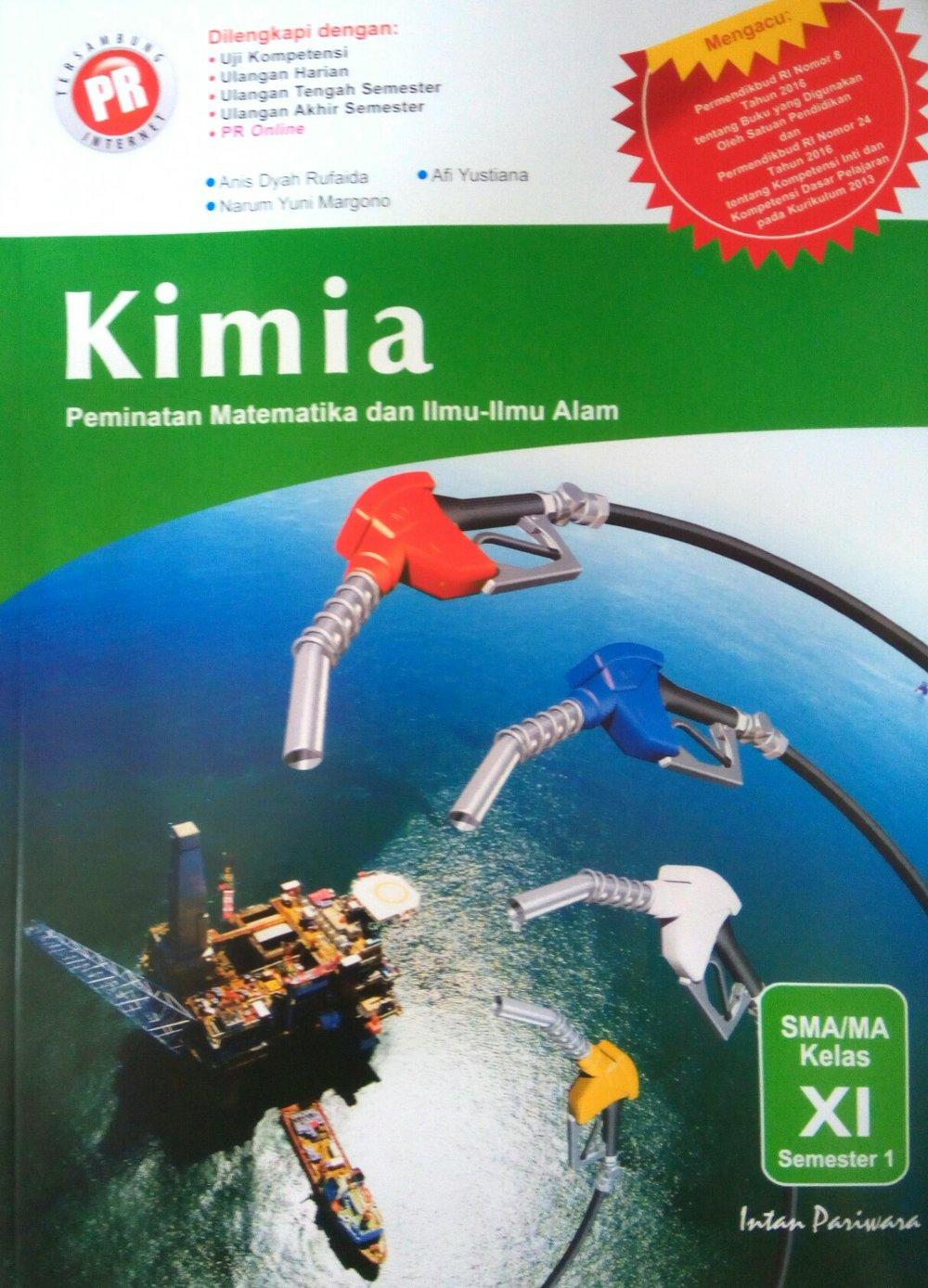 Buku Kimia Kelas Xi Intan Pariwara Fasrsg